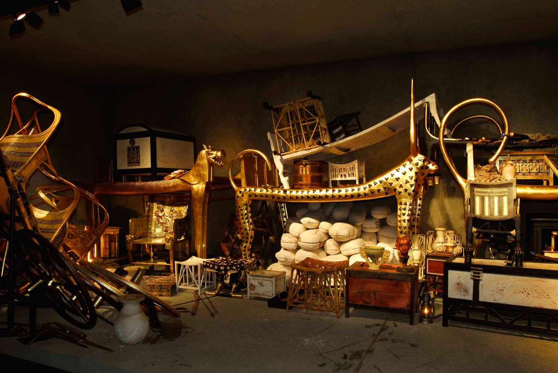 Vorkammer des Tutanchamun-Grabes