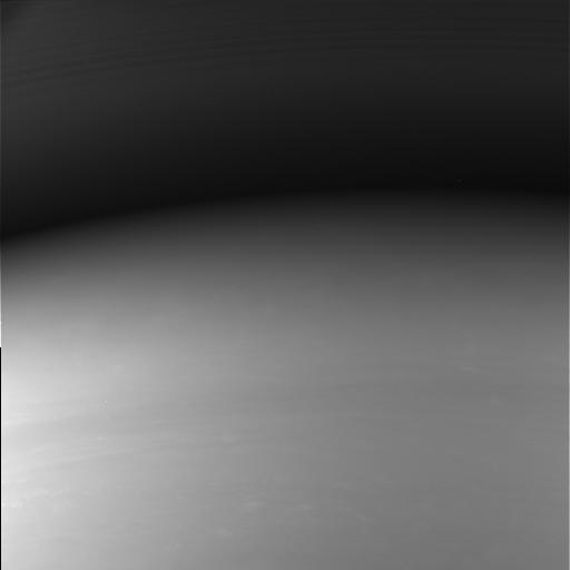 Das letzte Bild der Saturnsonde Cassini