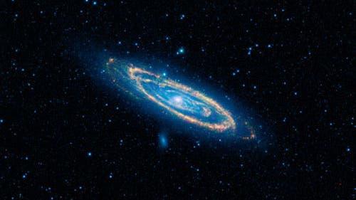 Messier 31 im Infraroten