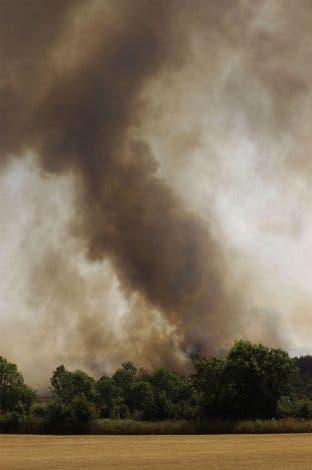 Waldbrand in Südfrankreich