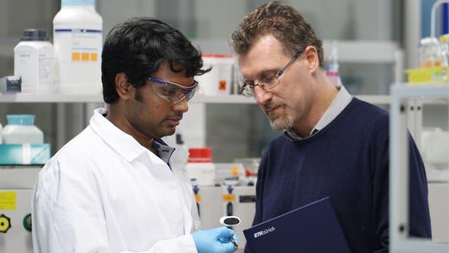 Die Entwickler der Amyloid-Kohlenstoff-Membran
