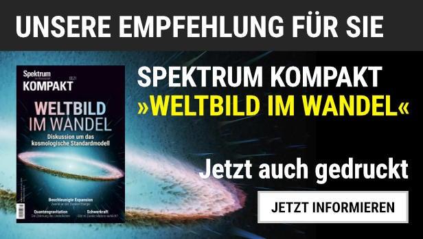 """Das Spektrum Kompakt """"Weltbild im Wandel"""" jetzt auch gedruckt erhältlich."""