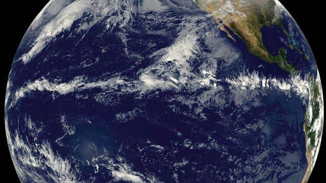 Wolken aus dem All