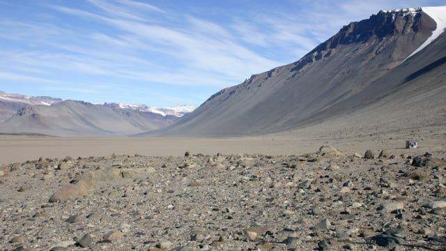 Trockenwüsten in der Eiswüste