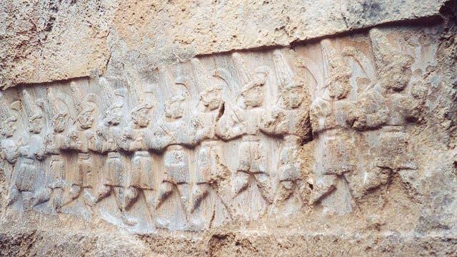 Relief in Yazilikaya