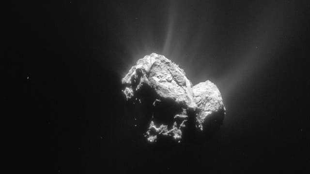 Komet 67P am 4. Mai 2015