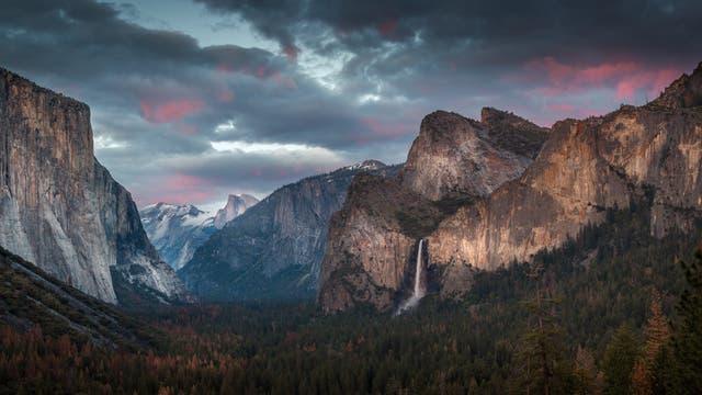 Die Felsen im Yosemite-Tal sind sichtbarer Ausdruck der Plattentektonik
