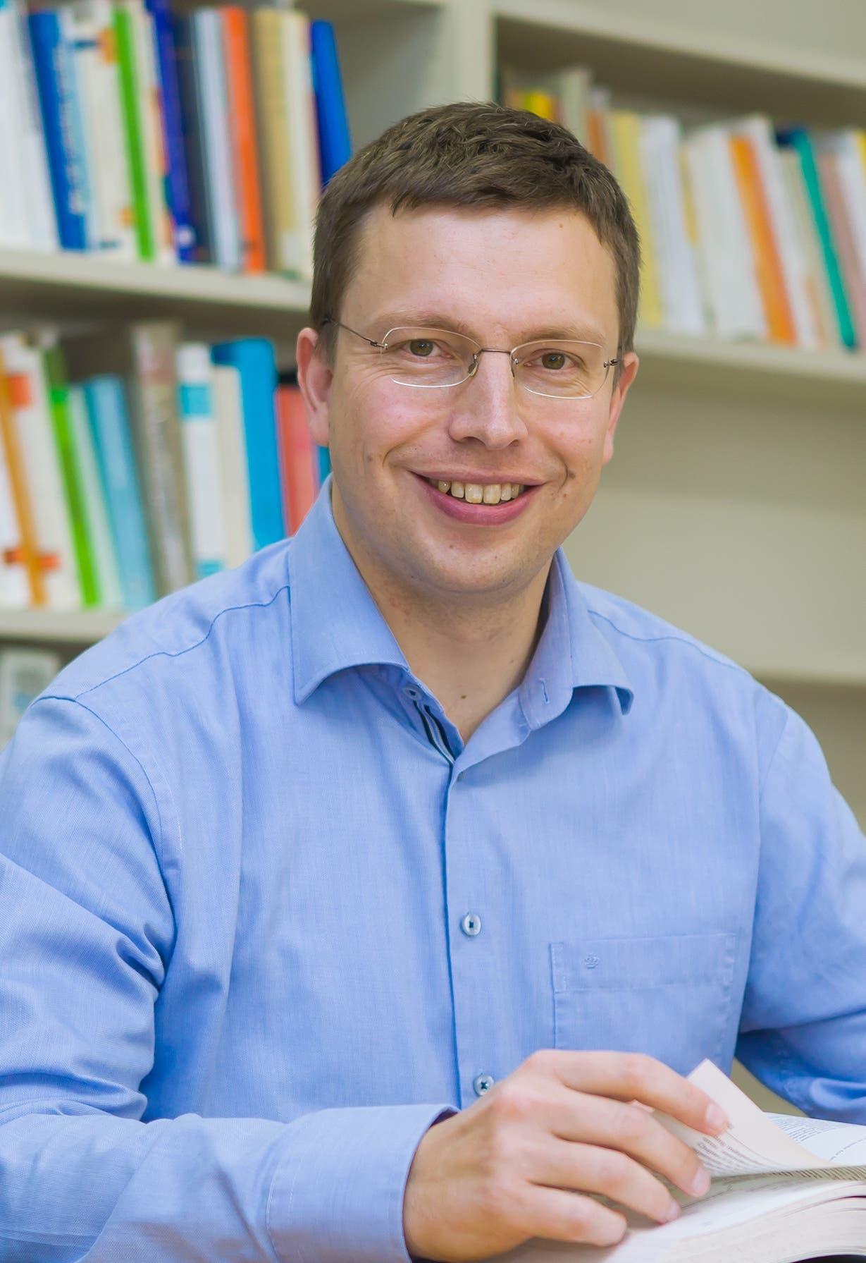 Hannes Zacher (Jahrgang 1979), Professor für Arbeits- und Organisationspsychologie an der Universität Leipzig