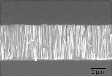 Nanogenerator aus Zinkoxidnanodrähten