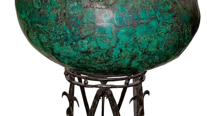 Bronzekessel