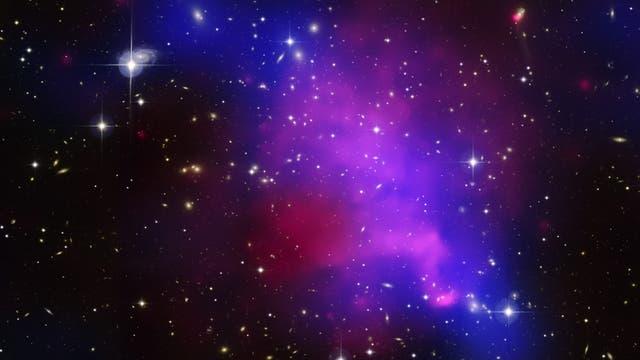 Galaxienhaufen Abell 520