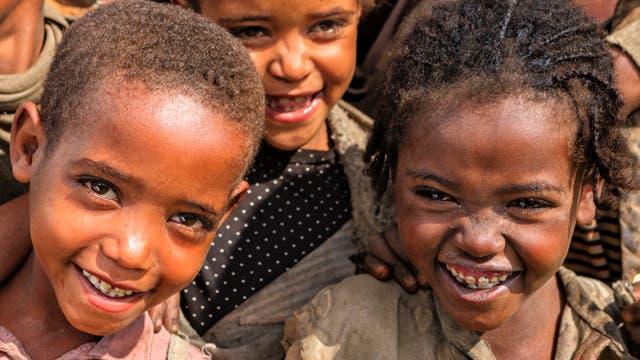 Kinder aus Äthiopien