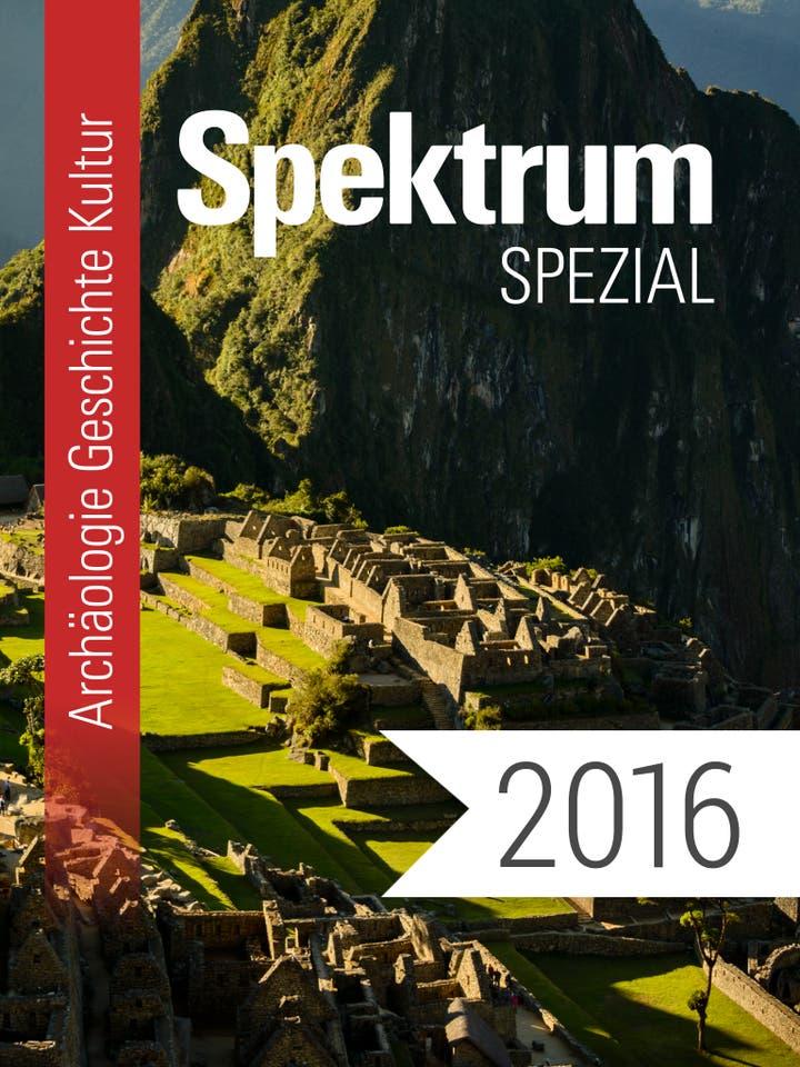 Digitalpaket: Spezialreihe Archäologie-Geschichte-Kultur Jahrgang 2016_Teaserbild