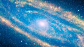 Andromeda im Infrarot