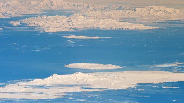 Die Antarktis aus dem All gesehen