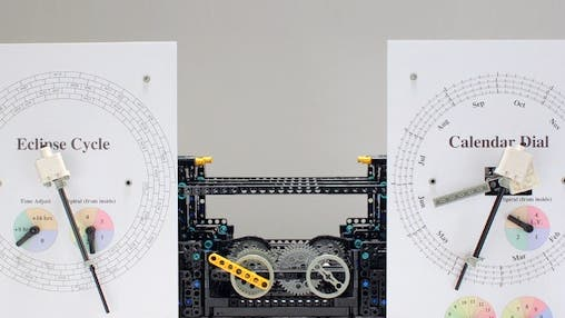 Antikythera-Mechanismus aus Lego