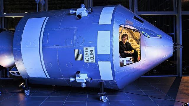 """Apollo-Raumkapsel (Requisit aus dem Film """"Apollo 13"""")"""