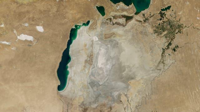 Aralsee - der klägliche Rest