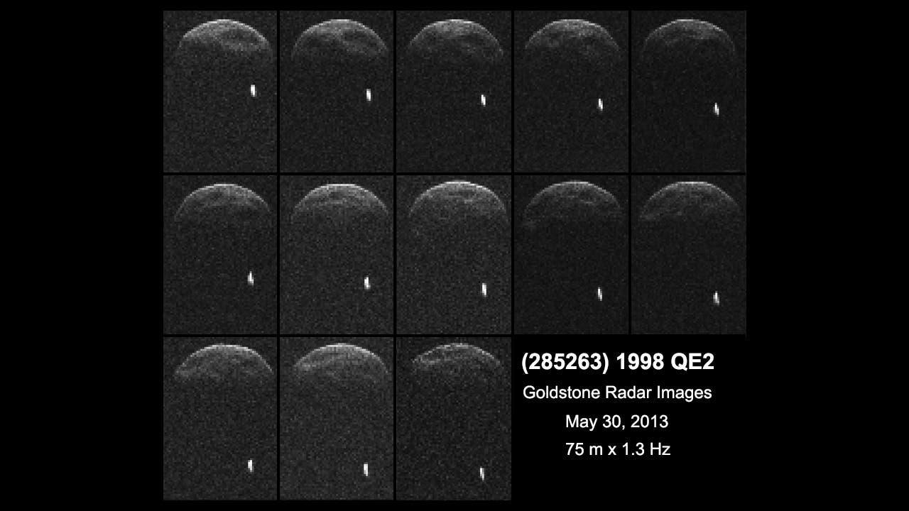 Radarbeobachtungen des Asteroiden 1998 QE2