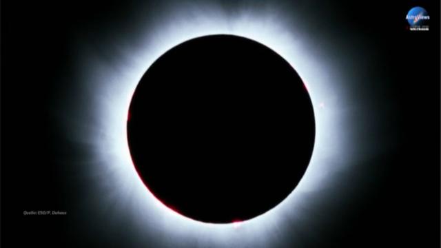 AstroViews 12: Schattenspiele von Sonne und Mond