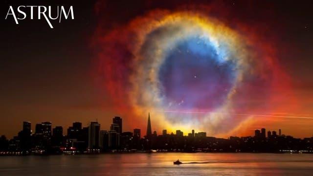 Die Erde ist seit 100 000 Jahren unterwegs durch die Lokale Wolke