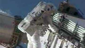 Astronaut im Einsatz