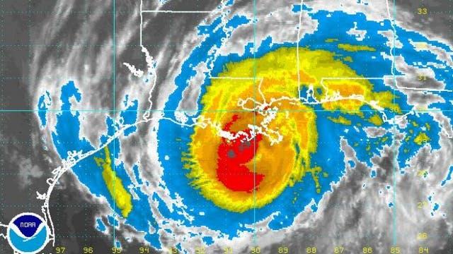 """Hurrikan """"Gustav"""" kurz vor New Orleans"""