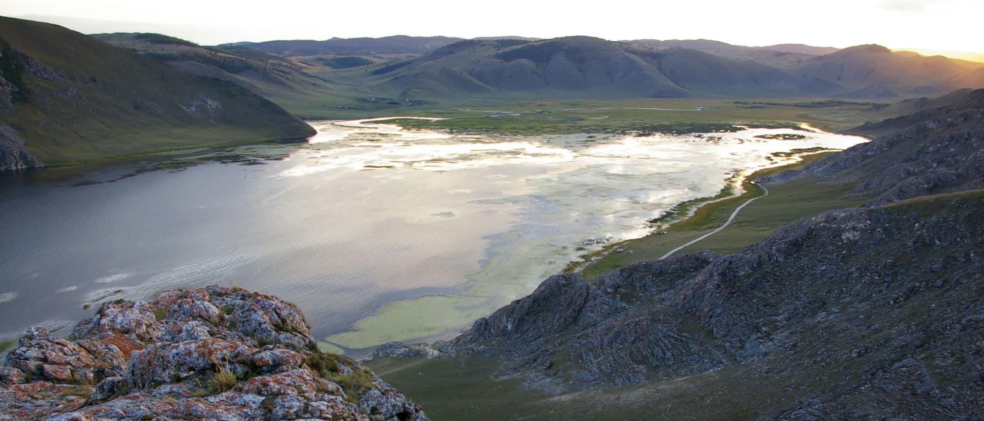 Idyll am Baikalsee