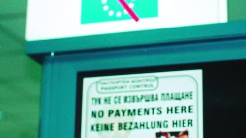 Keine Bezahlung hier