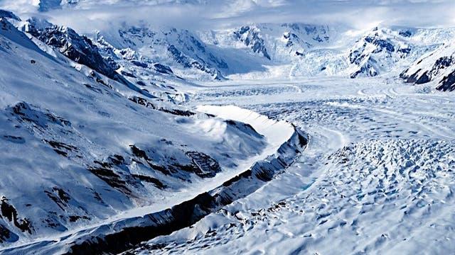 Kennicott-Gletscher in Alaska