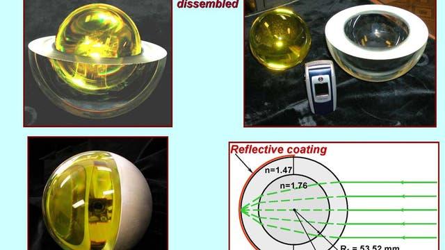 Der russische Laserreflektorsatellit BLITS