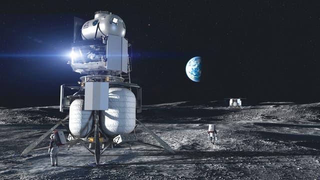 Mondfähre Artemis
