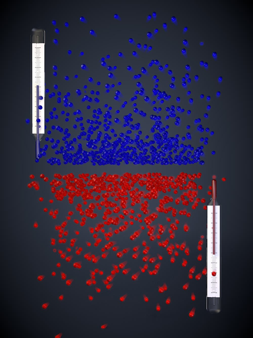 Symbolbild für die umgekehrte Boltztmann-Verteilung