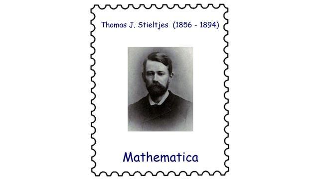 Thomas Stieltjes