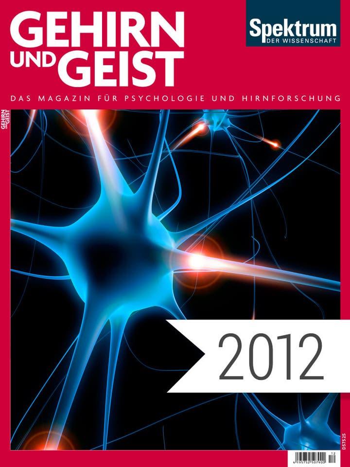 Gehirn und Geist Jahrgang 2012 Digitalpaket