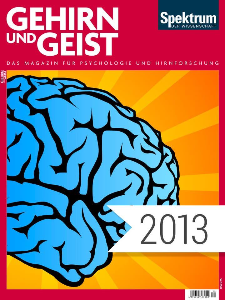 Gehirn und Geist Digitalpaket Jahrgang 2013