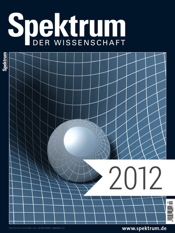 Spektrum der Wissenschaft Digitalpaket Jahrgang 2012