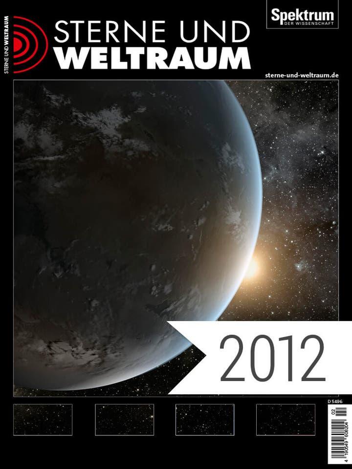 Sterne und Weltraum Digitalpaket Jahrgang 2012