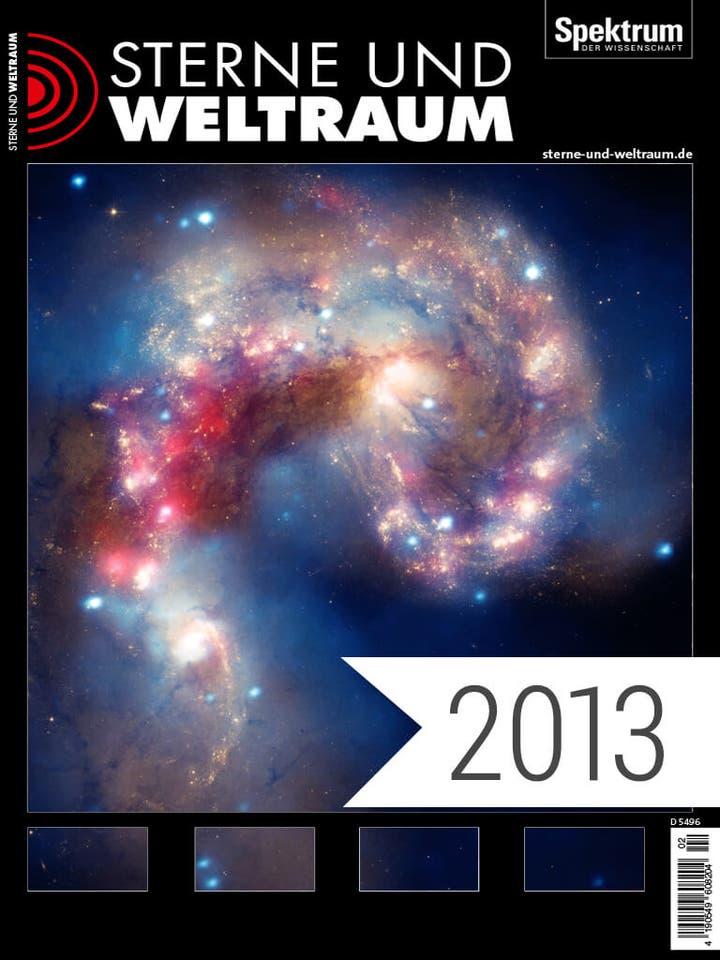 Sterne und Weltraum Digitalpaket Jahrgang 2013