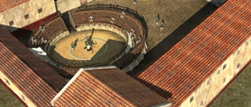 Radar ortet Gladiatorenschule