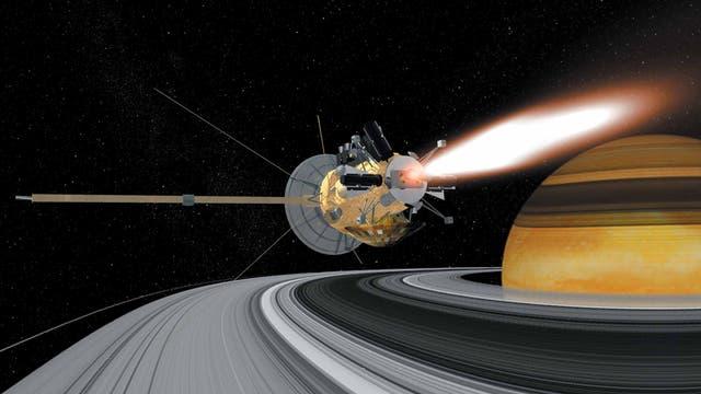 Cassini-Huygens – Rendezvous mit einem Gasriesen