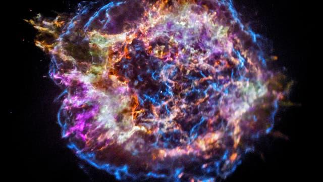 Supernova-Überrest Cassiopeia A