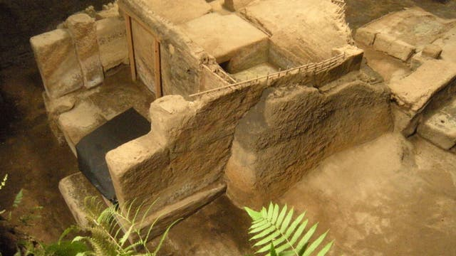 Maya-Ruinenstätte von Ceren in San Salvador