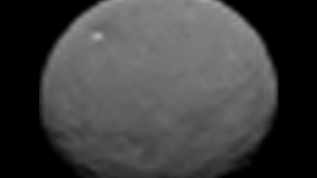 Die Rotation von Ceres
