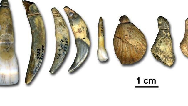 Schmuck von Neandertalern