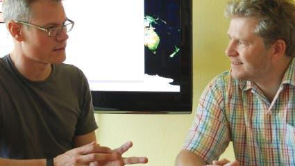Carsten Könneker und Richard Zinken