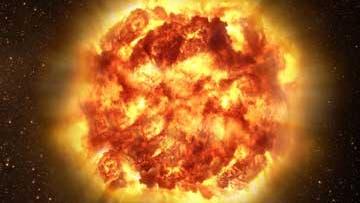 Klumpige Supernova