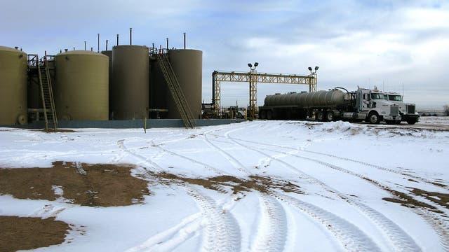 Abwasserverpressungsanlage in Colorado