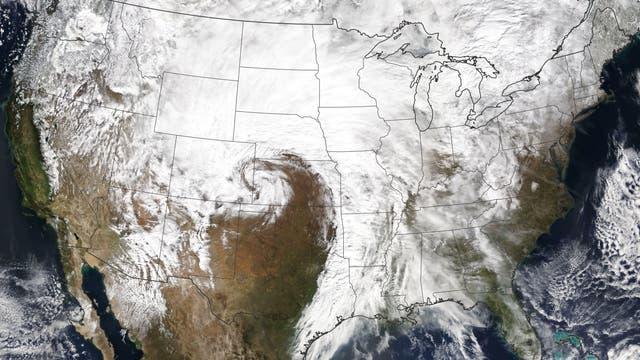 Sturm über dem Mittleren Westen