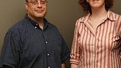 David Vogel und Megan Murphy